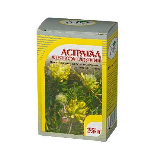 Астрагал шерстистоцветковый, трава 25 гр в интернет магазине Pepper.kz