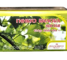 Гинкго билоба+клевер 50 гр в интернет магазине Pepper.kz